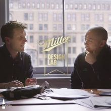Tune in to the Business of HYPE Podcast through our link in bio to hear @jeffstaple and @bellroy talk design inspiration, customisation and discuss their collaboration for #MillerDesignLab #ItsMillerTime *Filmed before social distancing measures