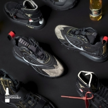 Performance, personality and customisation combined. Unboxing the four one-of-a-kind sneakers created by @j.theripper for @ponymtl @killaxkels @rymz and @davidforteau  Follow the journey on Hypebeast.com via the link in bio #MillerDesignLab #ItsMillerTime