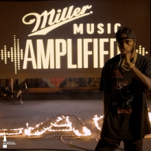 Click the link in bio to flash back to @6lack 's epic virtual set last weekend 🔥 #MillerMusicAmplified