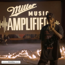 @6lack killin' it for #MillerMusicAmplfied