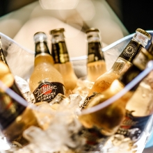 When the ice bucket is packed with golden smoothness 👌 #ItsMillerTime
