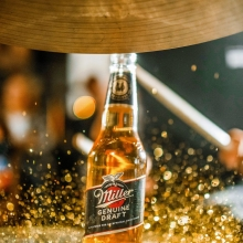 Always on-beat 🥁 #ItsMillerTime