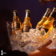 On ice, just how we like it 👌 #ItsMillerTime