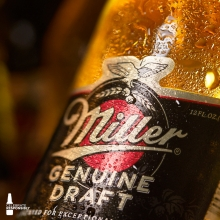 Call for a time-out!  Ice cold and ready to make your (Wednes)day. 🙌 #itsmillertime