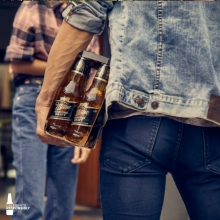 The best present you can bring to a barbecue. 🍔 Time for friends. 🍻 #itsmillertime