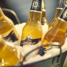 Beer tastes better when it's cold #ItsMillerTime