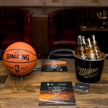 Check out the highlights from our NBA tip-off party! 🍻🏀 #MillerGenuineDraft #ItsMillerTime
