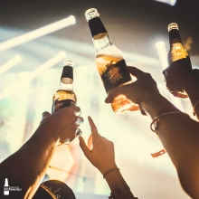 Kicking off 2020 with golden perfection 🍻 #ItsMillerTime