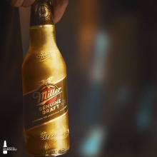 The golden glow… bring it home ✨ #ItsMillerTime #StayHome
